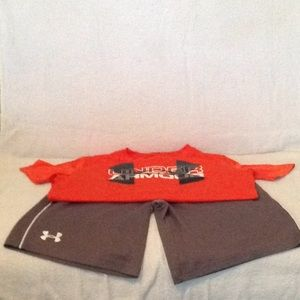 Boys dri fit Under Armour outfit